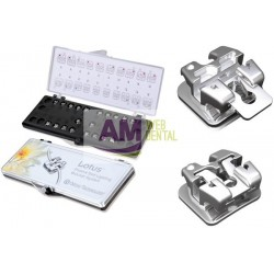 CASO DE BRACKETS METALICOS AUTOLIGADO PASIVO LOTUS MBT .022 -- ORTHO TECHNOLOGY