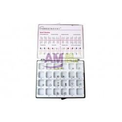 CASO DE BRACKETS METALICOS SPRINT ROTH .022 X 030 -- FORESTADENT
