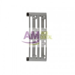 SATIN STEEL SOPORTE PARA 8 CLAMPS -- HU-FRIEDY