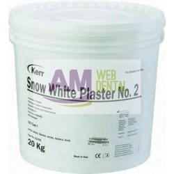 SNOW WHITE PLASTER 2 EXTRABLANCO 20kg. -- KERR HAWE