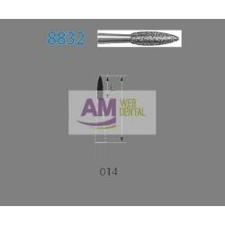 FRESA DIAMANTE CONTRA-ANGULO 8832L.204.014 -- KOMET