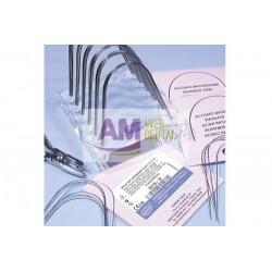 ARCOS ACERO FORMA STANDARD RECTANGULARES INFERIORES 016x022 -- LEONE