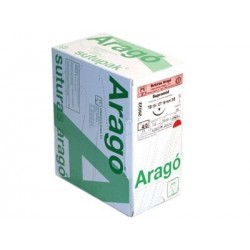 SUTURA SUPRAMID NEGRO 6/0 - TB-15 -- ARAGO